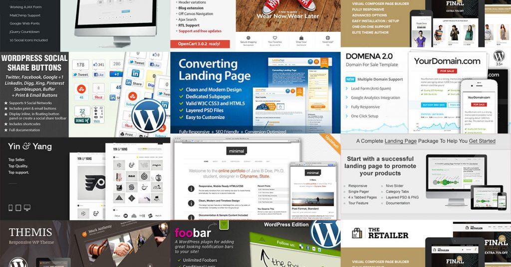 318$ vertės dovanos iš ThemeForest: WordPress, WooCommerce ir Opencart šablonai bei įskiepiai 1